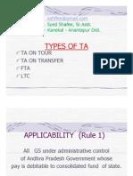 AP T.A. Rules