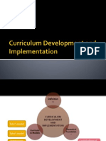Development and Implementation of mALAYSIA cURRICULUM