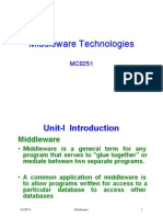 MC9251 Middleware Technologies Unit-1