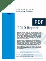 LATBD Latinobarometro Report 2010