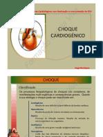 CHOQUE CARDIOGÉNCICO