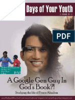 Issue 31 - Have You Met This Google Gen Guy In The Bible? / Lessons for Google Gen Bible Communicators From Jude / Praying Like This Halle Berry? - The Days Mag of Duke