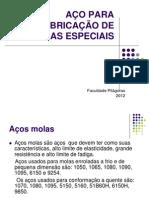AÇOS ESPECIAIS PARA FABRICAÇÃO DE MOLAS - PDF