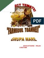Proiect Tematic Farmecul Toamnei-pt.inv prescolar-Niv. II-GRUPA MARE