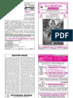 GAYATHRI SPEAKS - March Issue