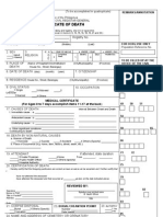 DCert Sample Form