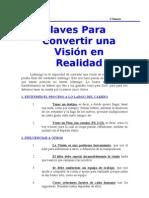Claves Para Convertir Una Vision en Realidad(1)