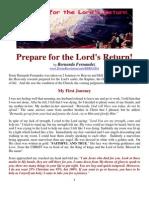Bernarda Fernandez Prepare for the Lords Return