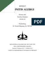 Referat Rhinitis Alergi