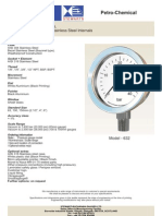 wika manometer pressure gage