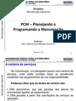 Manutencao Industrial - 2.4-PCM - Planejando e Programando a Manutencao