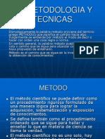 Vii.metodologia y Tecnicas