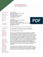 Coalition Letter to DOJ ED July 2013
