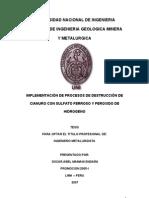 Destrucción de Cianuro con Peróxido y Sulfato.pdf