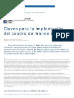 - Implantación Cuadro de Mando Integral