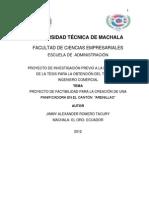 Ante Proyecto de Tesis Ing.felix Romero Final.