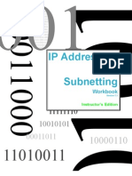 Ip Addressing and Subnetting Book - Instructor