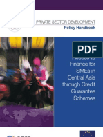 Improving Access to Finance for SMEs in Central Asia through Credit Guarantee Schemes