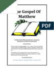 Matthew Executable (Student)