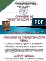 Oganos de Investigacion Penal