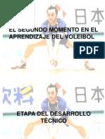 El Segundo Momento en El Aprendizaje Del Voleibol