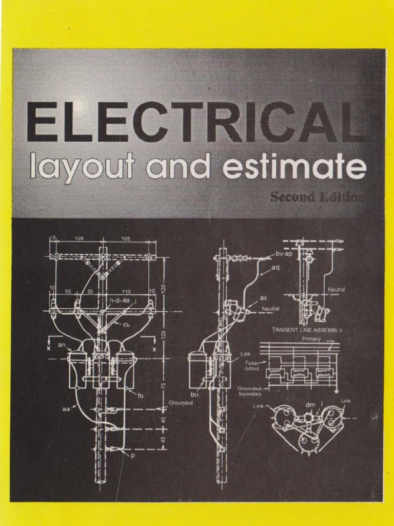 Electrical Layout And Estimate 2nd Edition By Max B