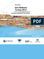 Western Balkans and Turkey - SME Policy Index 2012