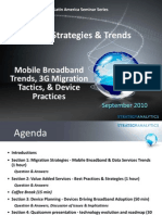 3G Strategies & Trends (Sept 2010)