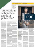 Entrevista con Marcela Temple de Pérez de Cuéllar