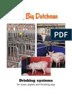 Big Dutchman Stalleinrichtung Pig Equipment Drinking Systems En