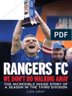 Rangers FC We Don't Do Walking Away by Lisa Gray Extract