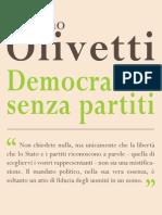 Estratto Da Democrazia Senza Partiti