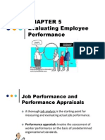 Chapter 5 Performance Appraisal