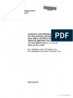 Bulletin 97 Geology and Mineral Deposits of the Quesnel River Horsefly Map Area, Central Quesnel Trough, British Columbia