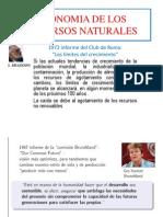 Economia de Los Recursos Naturales
