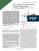 Fairness Resource Allocation in Blind Wireless Multimedia