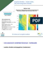 El Clima de Los Andes Tropicales (Universidad de Albania)