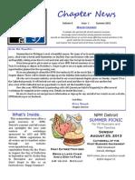 NPM Detroit Newsletter 2013