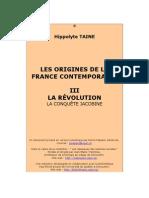 LA RÉVOLUTION . la conquete jacobine.doc