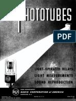 RCA 1941 Phototubes