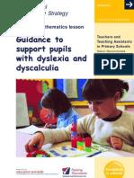 Dyslexia Leaflet Maths