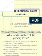 Teaching Eng Young Learners