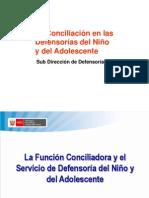 04 La Conciliación en la DNA-2011