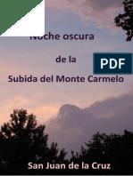 19719191 Noche Oscura de La Subida Del Monte Carmelo
