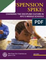 NYC MiddleSchools Report