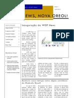 Ed 1. WOP News - WOP News, Nova Oreol.