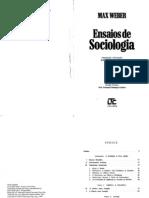 WEBER, Max - Ensaios de Sociologia