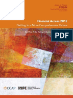 Financial Access 2012
