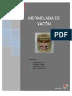 Mermelada de Yacon