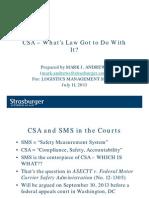 SP-#5020075-V1-Logistics Mgmt Series Slides on CSA